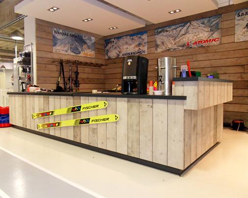 Winkelinterieur – Sportwinkel Intersport Twin Sport, Leiden