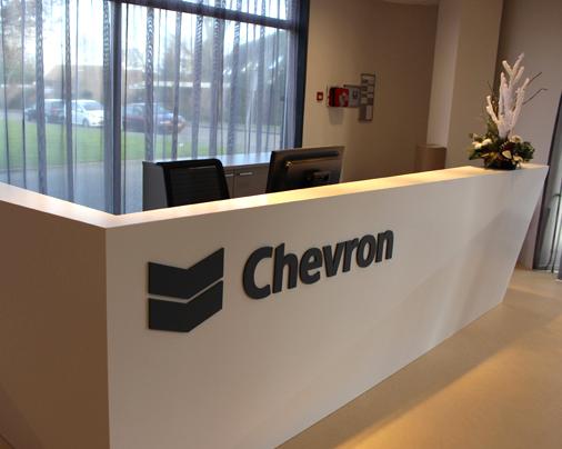Balie – Chevron, Den Haag