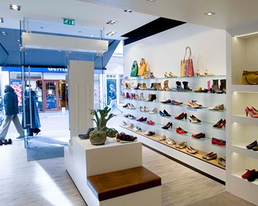 Winkelinterieur – Koetsier schoenen, Woerden